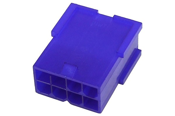 mod/smart VGA Power Connector 8Pin Buchse - UV Purple