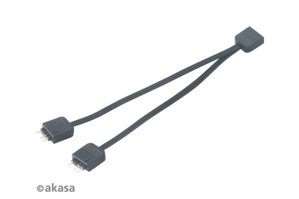 Akasa Addressable RGB LED Splitter Kabel - 12cm