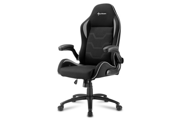 Sharkoon Elbrus 1 Gaming Chair Schwarz/Grau