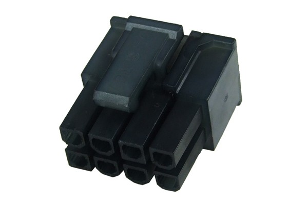 mod/smart VGA Power Connector 6+2Pin Stecker - Schwarz