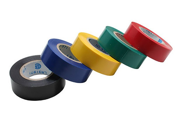 Isolierband, 5er Pack, div. Farben, 18mm, 10m