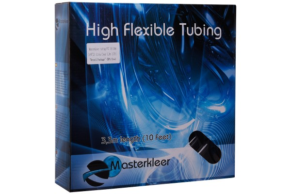 """Masterkleer Schlauch PVC 16/10mm (3/8""""ID) Ultra Clear 3,3m (10ft) """"Retail Package"""" (BPA free)"""