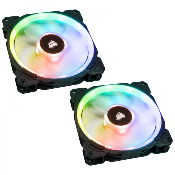 Corsair LL Series LL140 RGB Dual Light 140mm LED PWM-Lüfter