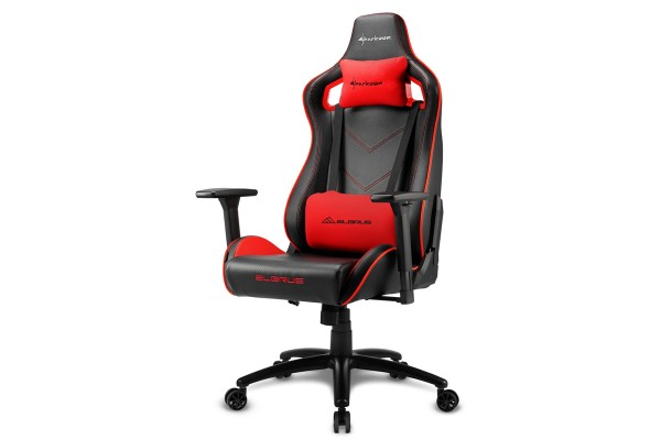 Sharkoon Elbrus 2 Gaming Chair Schwarz/Rot