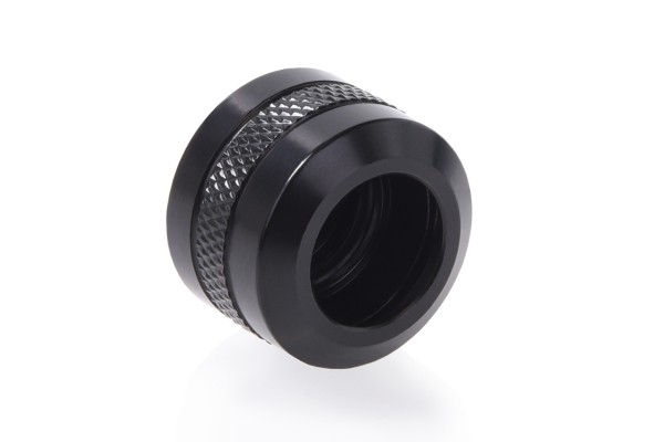 Alphacool Eiszapfen PRO 13mm HardTube Fitting G1/4 - Deep Black
