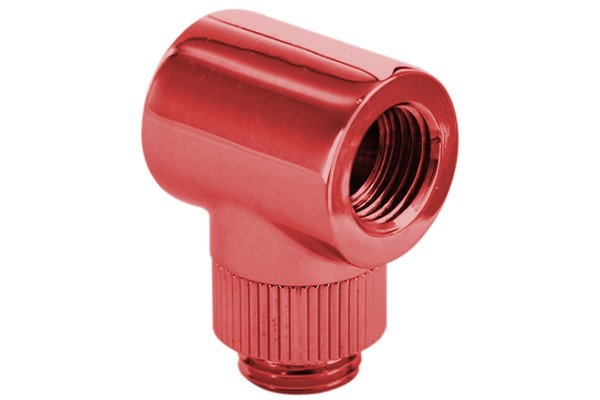 "Monsoon 19/13mm (OD 3/4"") Light Port Rotary 90° - Red"