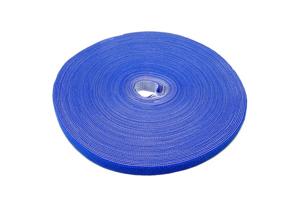 Label The Cable Klettbandrolle Dual LTC ROLL STRAP, blau 25m (2500cm)