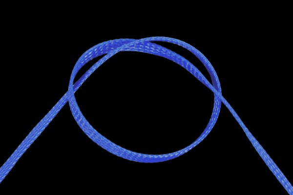 "Phobya Flex Sleeve 6mm (1/4"") UV-blau 1m"