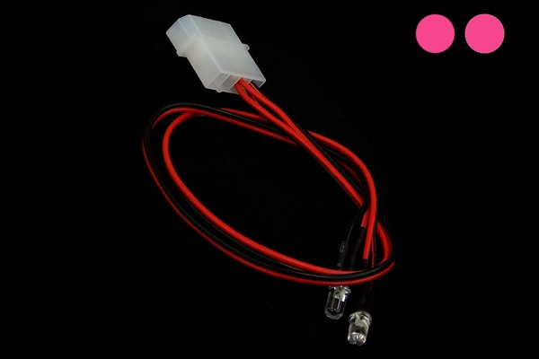 LEDready Twin 5mm Ultrahell pink